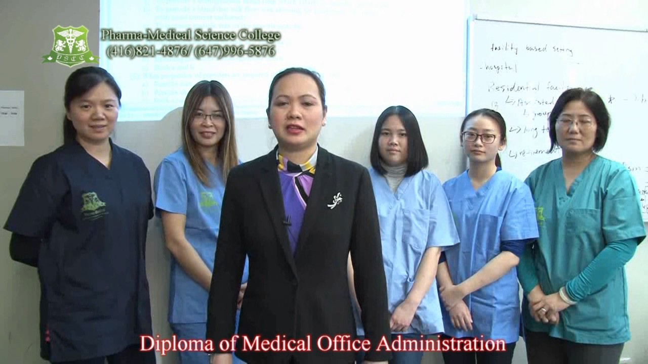 Pharma Medical Science College Of Canada   Introduction Of Medical Office  Administration
