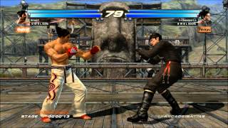 Tekken Tag Tournament 2 Nintendo Wii U Options & Gameplay