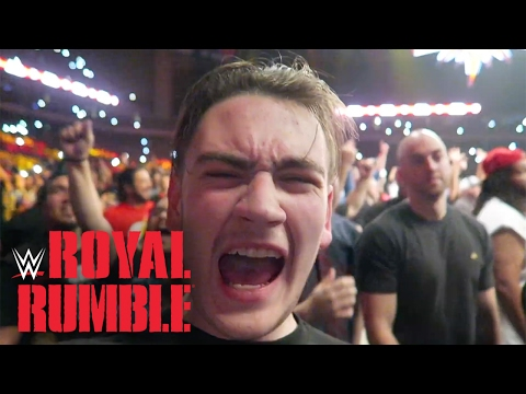 WWE Royal Rumble 2017 ROW 3 (San Antonio, TX) | Brandon Hodge Vlog #43