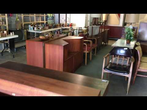 Teak, Rosewood and Walnut Mid Century Modern Furniture, at AUCTION July 13th at 6pm!