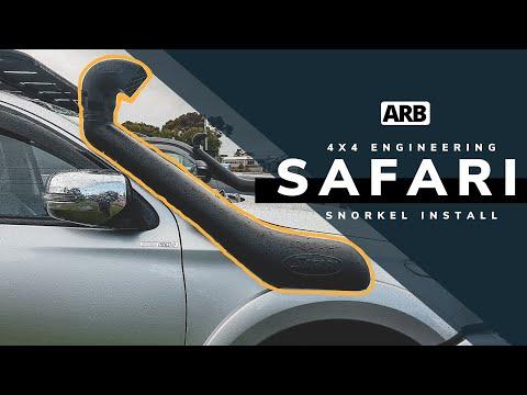 Snorkel Install // Safari 4x4 Engineering // MQ TRITON // ARB