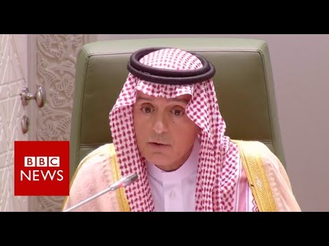 Saudi minister: Khashoggi killers did rogue operation - BBC News