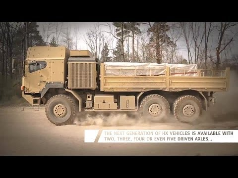 0 Rheinmetall Defence HX Series High Mobility Trucks