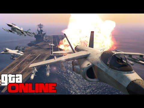 GTA 5 Online - АВИАНОСЕЦ! #60