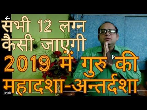 2019 for Jupiter Mahadasa or Antardasa