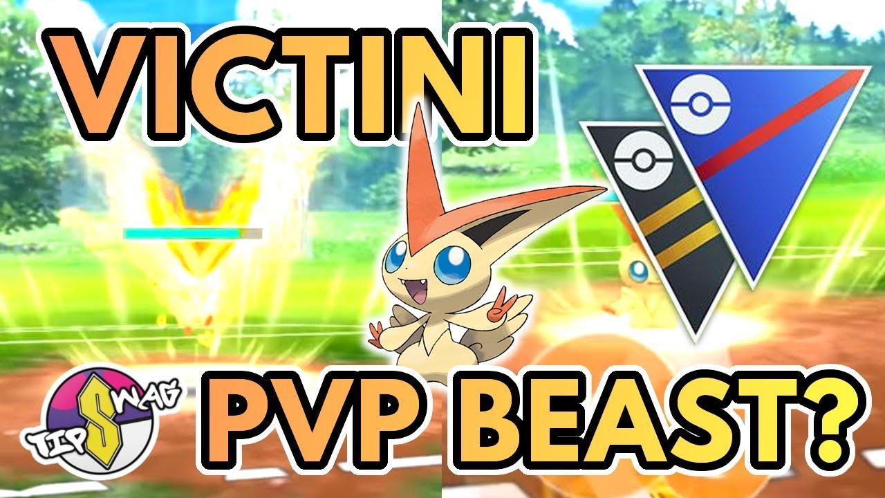 Is Victini Good In Pvp Pokemon Go Battle League Youtube