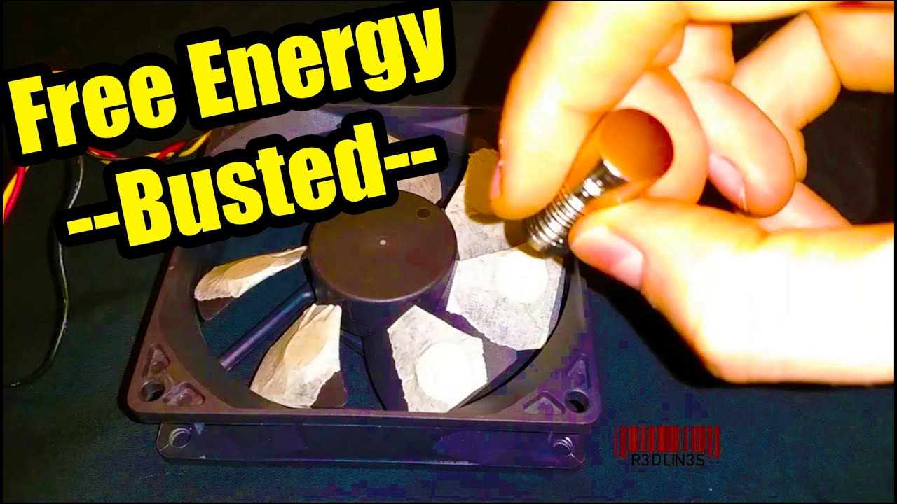 Free Energy Magnet Motor Fan Used As Free Energy Generator Quot Free Energy Quot Light Bulb Youtube