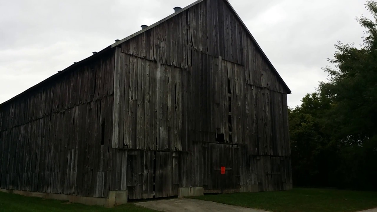 Old Tobacco Barn Weston Bend State Park Youtube