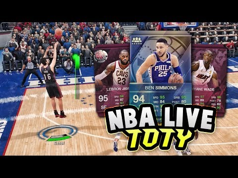 CAN WE GET A 94 OVERALL TEAM OF THE YEAR BEN SIMMONS CARD?? | NBA LIVE 18 ULTIMATE TEAM