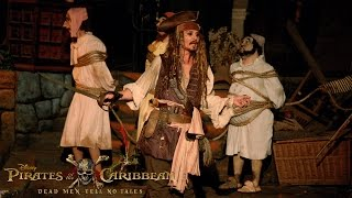 "In celebration of the upcoming film, ""Pirates of the Caribbean: Dead Men Tell No Tales,"" some lucky Disneyland park guests got more than they bargained for ..."