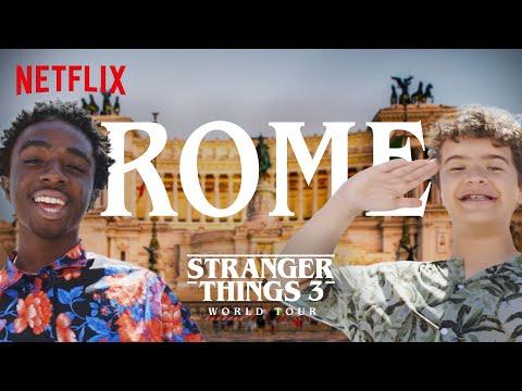 Stranger Things 3 World Tour | Rome | Episode 6