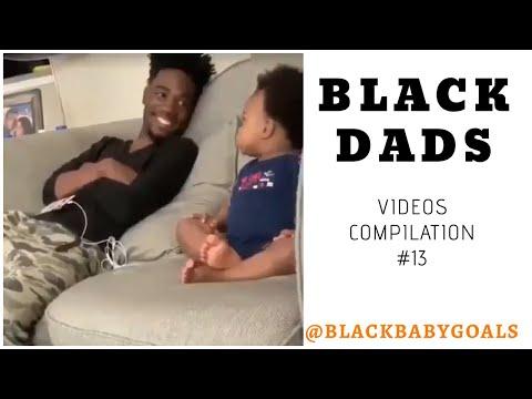 BLACK DADS Video Compilation #13   Black Baby Goals
