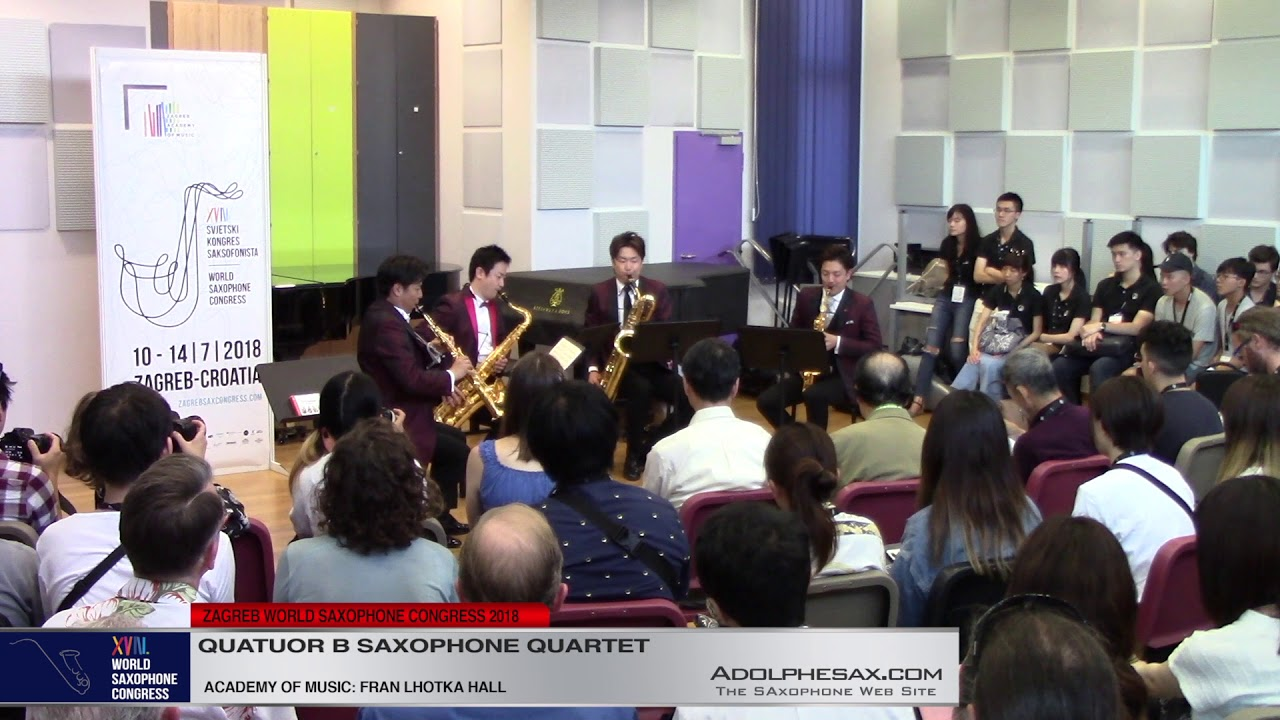 Comets from planets by Trouvere by Jun Nagao - Quatuor B Saxophone Quartet  #adolphesax