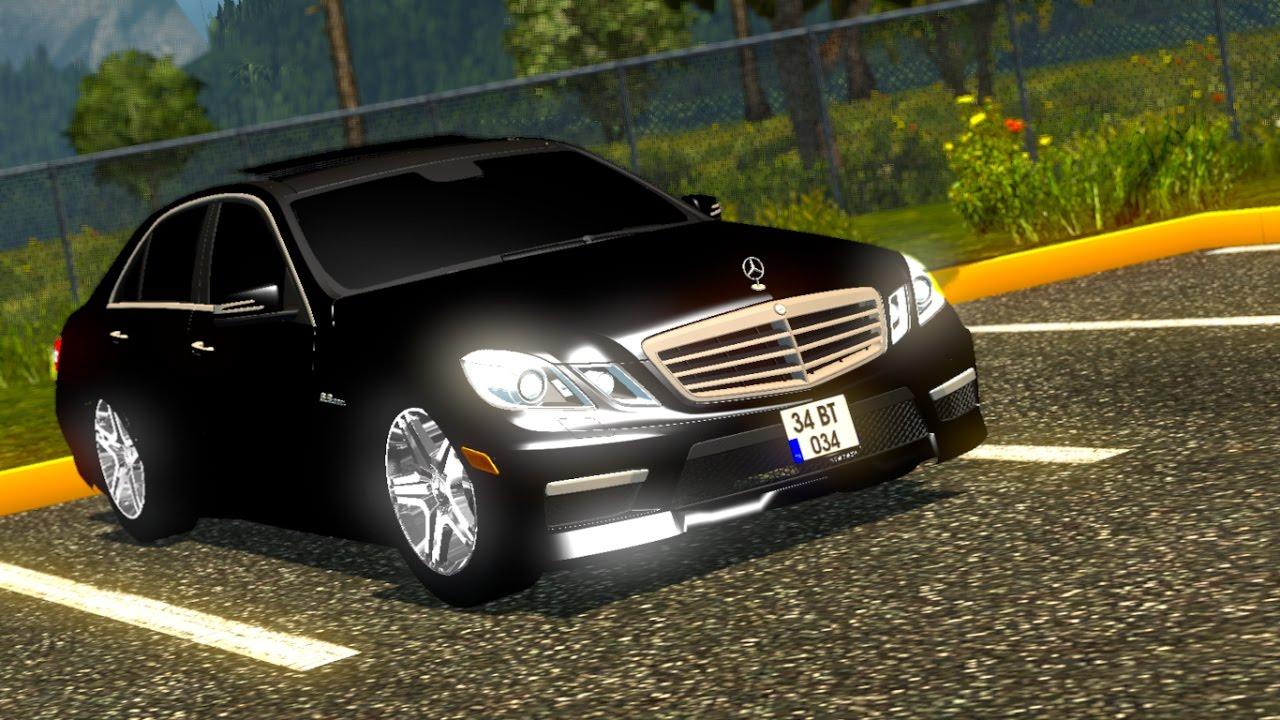 Euro Truck Simulator 2 Mercedes E 63 Amg Ets2 1 28x Download