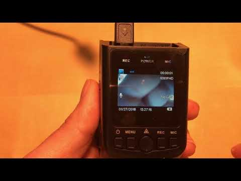 How To Format A Memory Card Inside The Street Guardian SG9665GC  Dashcam