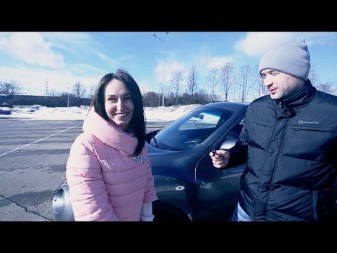 Nissan Juke тест драйв, обзор Ниссан Жук