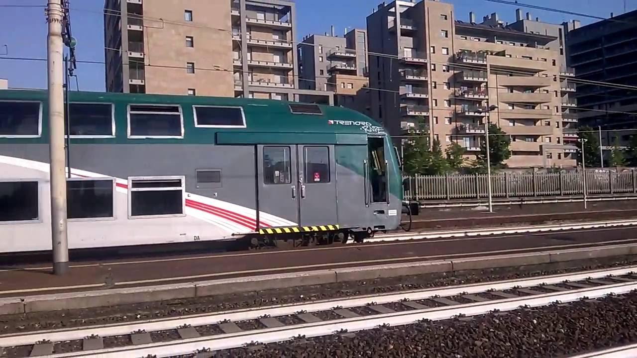 Treni a milano greco e464 322 trenord 6 2 piani xmpr e - Trenord porta garibaldi ...