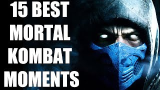 15 Best Moments In The Entire Mortal Kombat Series