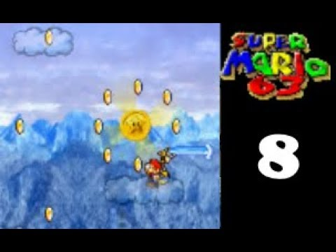 Super Mario 63 - 8 - Turbo Nozzle Troubles (with Star Coins)