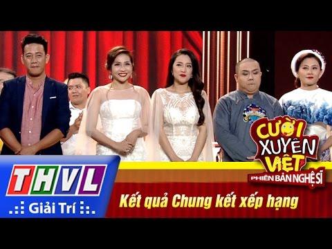 THVL | Cười xuyên Việt – PBNS 2016 | Chung kết xếp hạng: Kết quả