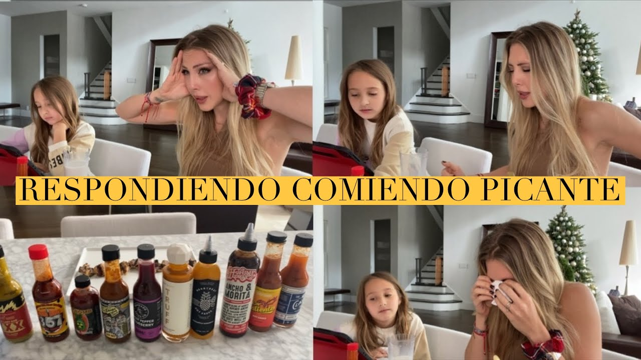 HOT ONES INSPIRED | RESPONDIENDO PREGUNTAS CON PICANTE