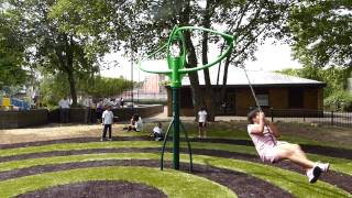 Hurricane Swing With Button Seats - Outdoor Playground Equipment