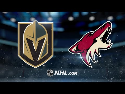 Golden Knights hold off Coyotes in 4-2 victory