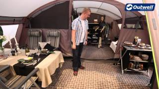 A tour of tнe Outwell Tennessee 5 tent