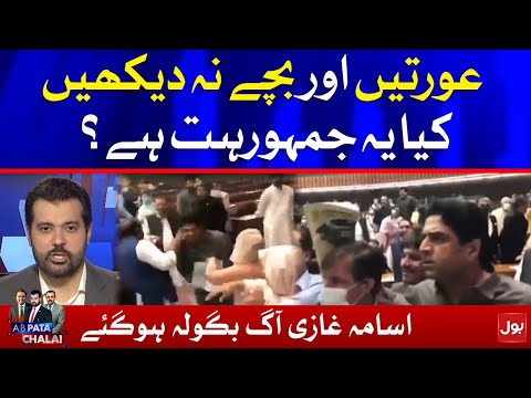 Usama Ghazi Slams PTI and PMLN Workers on Abusing in National Assembly