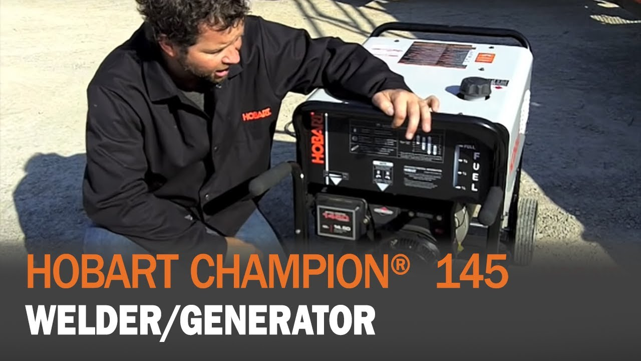 Hobart Welder Wiring Diagram Champion 145 Generator Product Demonstration Youtube
