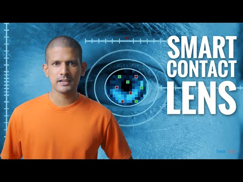 A Smart Contact Lens To Record Everything You See