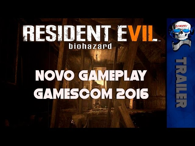 Resident Evil 7 Novo gameplay trailer revelado - Gamescom 2016