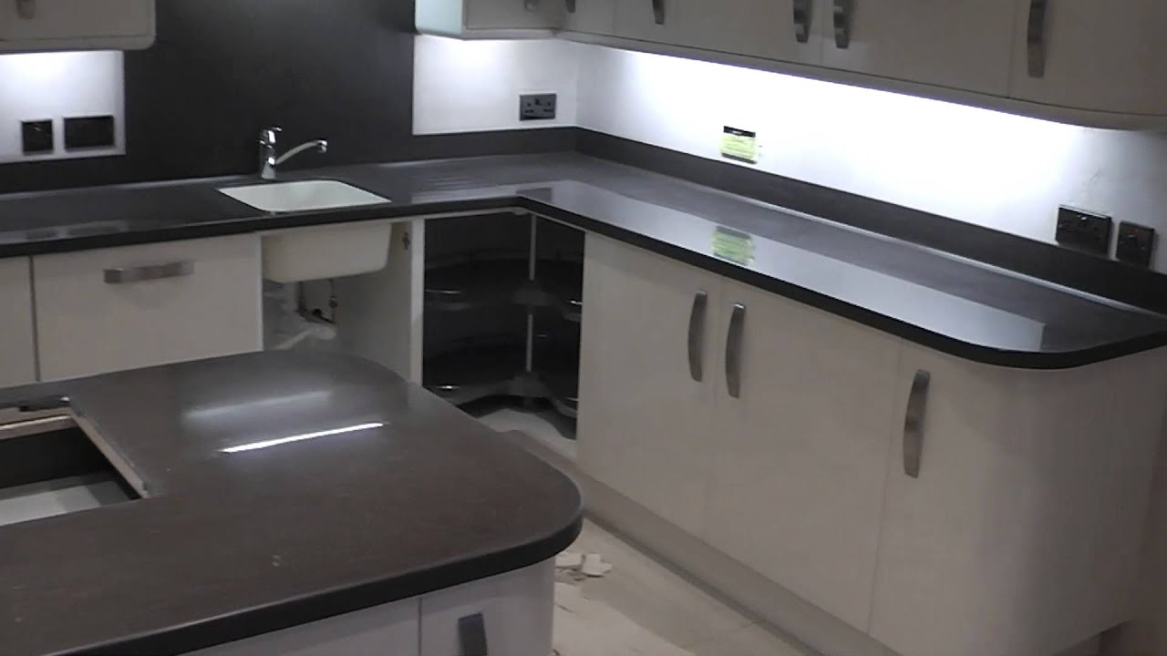 Kitchen Sink White Worktop