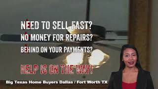 Sell your house fast and easy with Big Texas Home Buyers