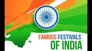 Different Types Of Festivals | Famous Festivals of India For Kids | Periwinkle