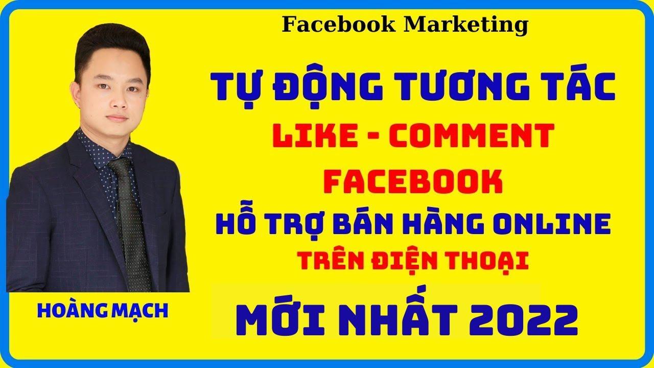 Hướng dẫn cài auto tương tác Facebook trên điện thoại 2020