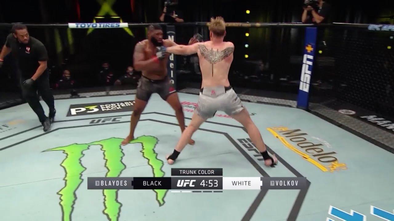 UFC Fight Night: Blaydes vs. Volkov - Highlights / UFC Блейдс - Волков: Хайлайты