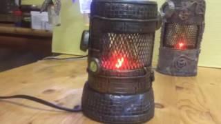 Стимпанк лампа1