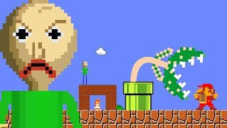 BALDI trap for Mario