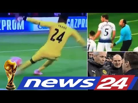 Sport TV -  Ajax Goalkeeper Takes A Tumble Over Plastic Cup - THINGS YOU MISSED