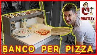 🍕FAI DA TE🍕 - Banco per stendere la pizza fatta in casa - Il progetto fai da te per la fase 2