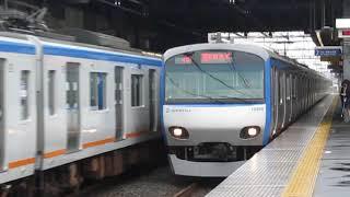 相鉄10000系10708F瀬谷駅高速通過