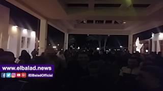 مجلس جامعة بنها يحتفل بفوز منتخب مصر على المغرب .. «فيديو»
