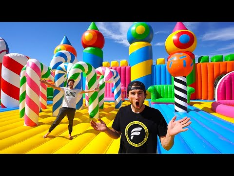 Hide N Seek In Worlds Largest Bounce House