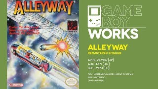 Alleyway retrospective [remastered]: Game Boy's breakout title | Game Boy Works #001