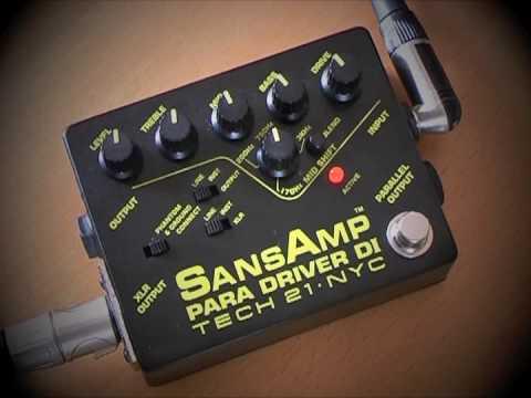Tech 21 Sansamp Para Driver Di Acoustic Guitar Youtube