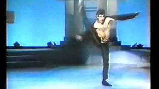 Claquage du siècle pour un danseur
