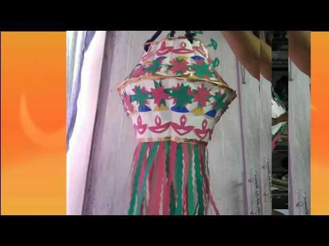 #DiwaliSpecialEasytoMakeLantern #PaperCupLantern #AkashKandil #bestOutofWaste using paper cup kandil