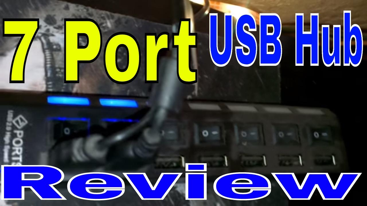 Amazon 7 Bank USB Hub Review