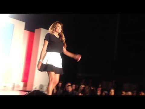 "Leah Shafer ""on the Runway"" at LA Fashion Week"